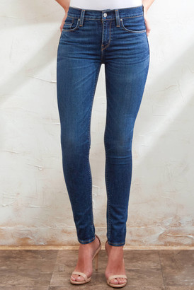 Hudson Nico Midrise Super Skinny Jean in Interlude Medium Denim 26