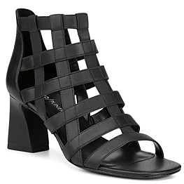 Donald J Pliner Women's Visto Strappy Cage Block Heel Sandals