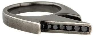 Black Diamond Lynn Ban Jagged Knuckle Ring