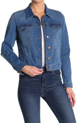 Anne Klein Classic Denim Trucker Jacket