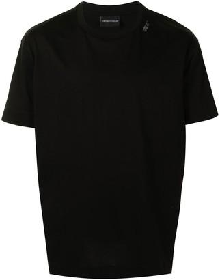 Emporio Armani logo crew-neck T-shirt