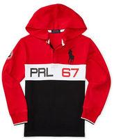 Ralph Lauren Boys 8-20 PRL 67 Graphic Interlock Hoodie