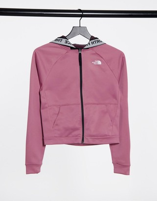 The North Face TNL full zip hoodie in pink