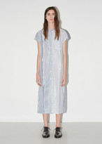 Alexander Wang Washed Stripe Shirt Dress