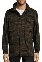 Ovadia & Sons Camouflage Patchwork Jacket