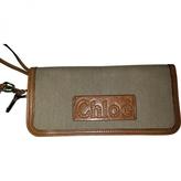 Chloé Camel Leather Wallet