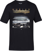 Hurley Men's Rising Tides Graphic-Print T-Shirt
