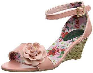 Joe Browns Women's A Garden in Bloom Shoes Open Toe Heels, (Pink A), 3 (36 EU)