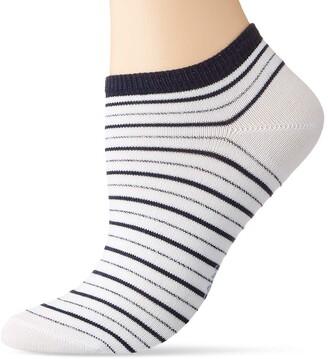 Falke Women's Stripe Shimmer Ankle Socks