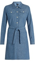 A.P.C. Dolly cotton-chambray dress