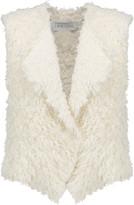 IRO Bellay fringed cotton-blend cardigan