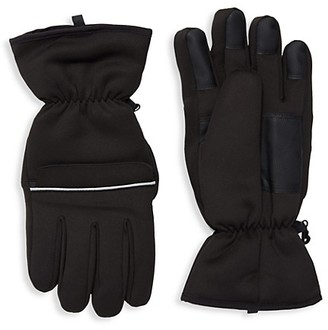 Saks Fifth Avenue Taslan Softshell Gloves