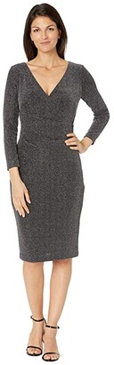 Lauren Ralph Lauren Cammah Dress (Black/Silver) Women's Dress