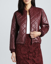 Elizabeth and James Lena Quilted Faux-Leather Jacket (Stylist Pick!)