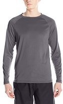 Kanu Surf Men's UPF 50+ Long Sleeve Rashguard Swim Shirt