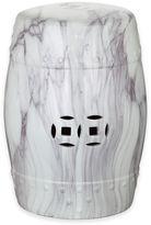 Safavieh Jade Swirl Garden Stool in White