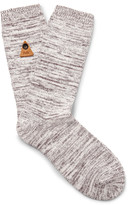 Folk - Mélange Stretch Cotton-blend Socks