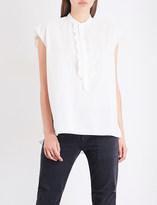 Nili Lotan Charlton cotton-poplin shirt