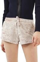 Topshop Women's Crushed Velvet Shorts