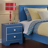 Ashley Bronilly 1 Drawer Wood Nightstand in Blue