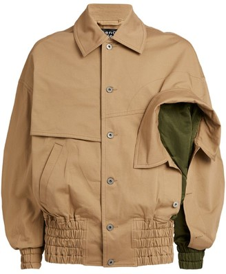 Feng Chen Wang Two-Collar Bomber Jacket