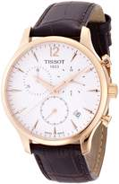 Tissot Men's T0636173603700 Tradition Analog Display Swiss Quartz Watch
