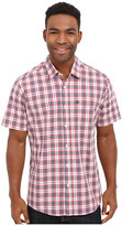 Quiksilver Everyday Check Short Sleeve Woven Top