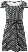 Dorothy Perkins Green mini floral print dress