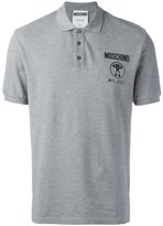 Moschino logo polo shirt - men - Cotton - XS