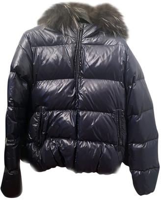 Duvetica Blue Cashmere Coats