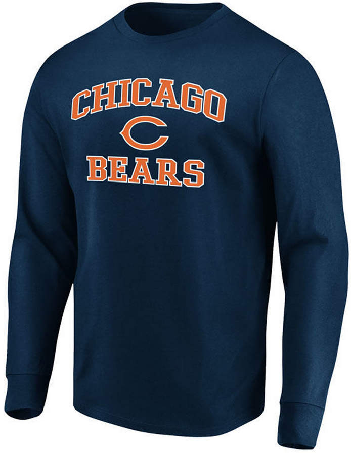 finest selection a2d76 36cad Men Chicago Bears Heart and Soul Long Sleeve T-Shirt