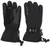 Spyder Black & Silver Traverse GORE-TEX Ski Gloves