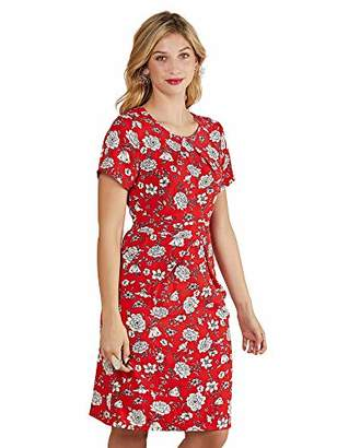 Yumi Floral Print Pocket Dress