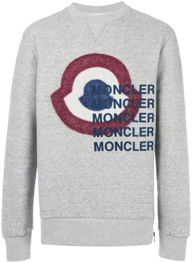 Moncler bullseye print sweatshirt