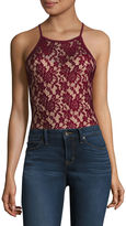 Fire Sleeveless Bodysuit-Juniors