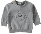Name It Monkey Embroidered Sweater