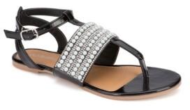 OLIVIA MILLER Hallandale Embellished Sandals Women's Shoes
