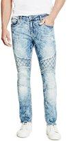 GUESS Skinny Freeform Moto Jeans