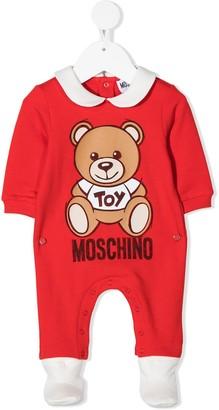 MOSCHINO BAMBINO Teddy Bear-print pajama