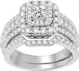 Nicole Miller Nicole By 2 CT. T.W. Diamond Bridal Set