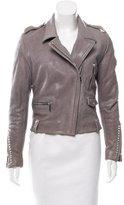 Barbara Bui Leather Moto Jacket