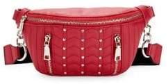 Steve Madden Studded Quilted Belt Bag