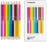 Polaroid Two-Tone Colored Pencil Set