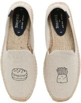 Soludos Hamburger Embroidered Cotton Espadrilles