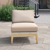 Oasis River Patio Chair with Cushions Foundstone Cushion Color: Cast