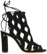 Alexandre Birman cut-out detail pumps - women - Leather/Suede - 36.5