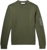 Sandro - Loopback Cotton-jersey Sweatshirt