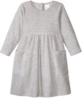 Zutano Cozie Fleece Dress (Baby) - Heather Gray - 12 Months