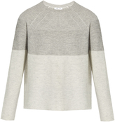 Vince Round-neck wool and cashmere-blend sweater
