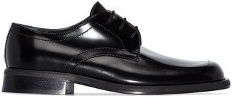 Plan C leather Oxford shoes